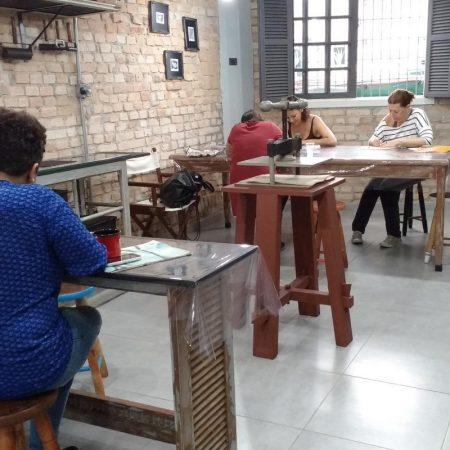 Ateliers em Santos - Revista Nove - Gravurar - Foto Divulgação2