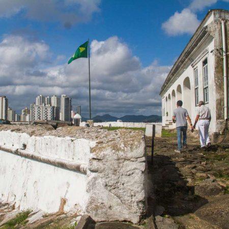 Fortaleza da Barra Grande, em Guarujá