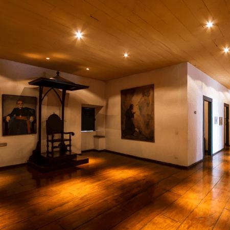 Museu de Arte Sacra de Santos, em Santos