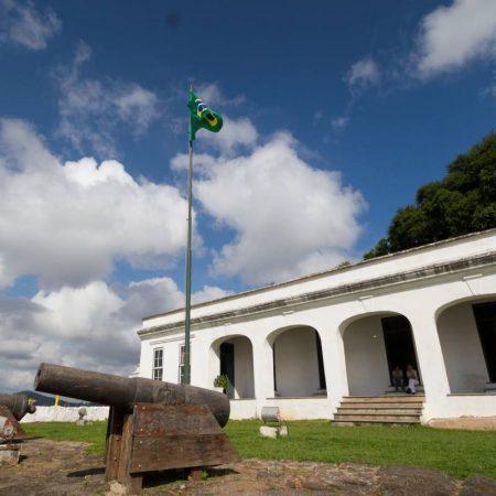 Museu Histórico da Fortaleza da Barra Grande, no Guarujá