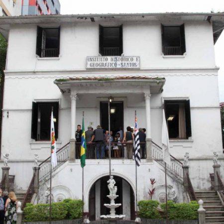 Instituto Histórico e Geográfico de Santos, em Santos