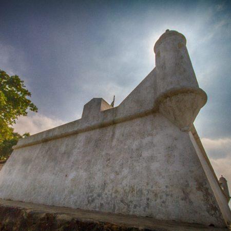Forte São João, em Bertioga