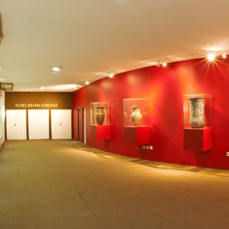 Teatro Serafim Gonzalez, em Praia Grande