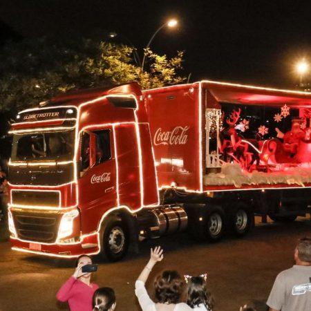 Caravana de Natal da Coca-Cola em Santos e São Vicente - Revista Nove - Foto Divulgação