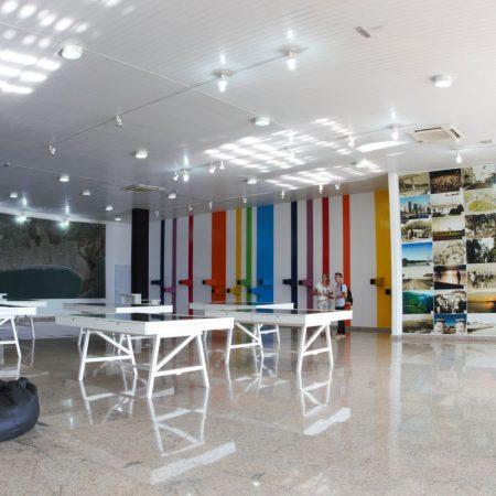 7) Palácio das Artes, em Praia Grande