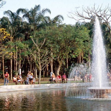 Para o seu espírito libertário, o Jardim Botânico de Santos
