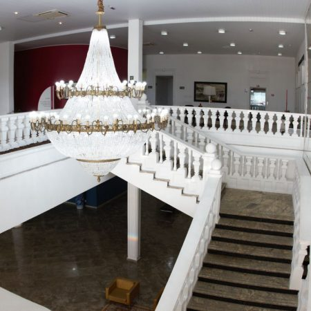 O lustre do Palácio das Artes (Praia Grande)