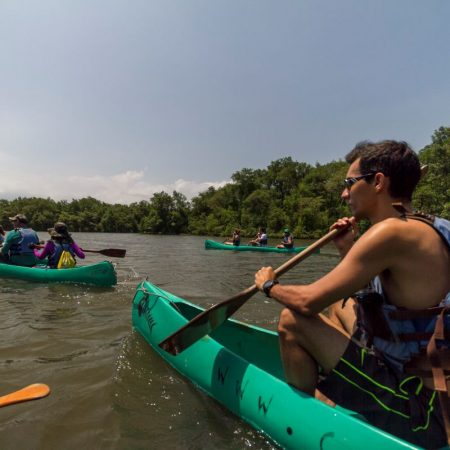Passeio de canoa pelo manguezal (Praia Grande)