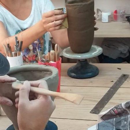 Curso Cerâmica I – Modelagem Manual