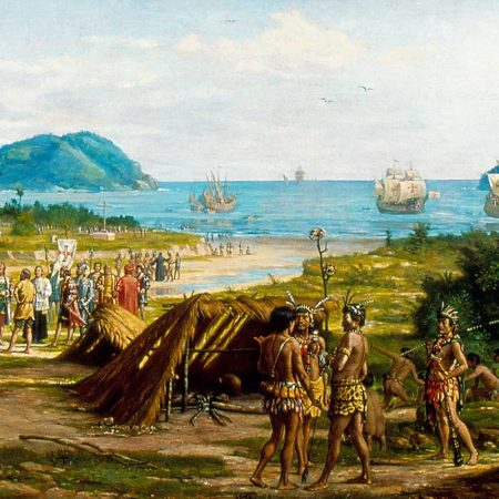 Sao Vicente Primeira Vila do Brasil - Benedicto Calixto