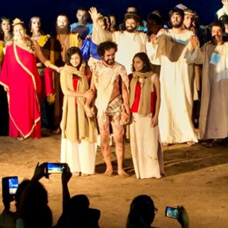 Foto-Encenação-Paixão-de-Cristo